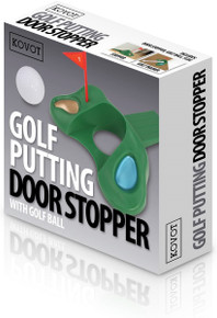 Kovot Golf Putting Door Stopper  With Golf Ball Gift Set