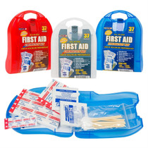 Set of 3 First Aid Emergency Kit All In One 37 Pieces