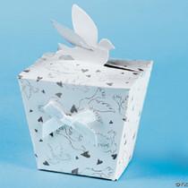 Cardboard Favor Treat Boxes Wedding Dove Bridal Shower