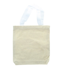 12 Canvas Mini Blank Craft Totes Wedding & Party Favors