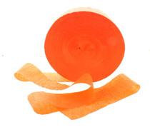 Orange Streamer Crepe Paper 500 Ft Halloween Party