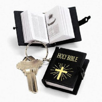 Bible Keychains - 12 Count