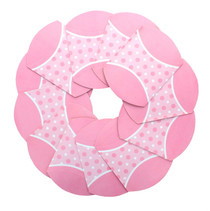 Baby Girl Party Favor Boxes Mini Pink Polka Dot Shower Birthday Lot of 12