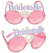 Bride To Be Glasses Diamond Ring Bachelorette Party Wedding Bridal Shower