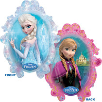 Disney Frozen Anna & Elsa Mylar Super Shape Balloon XL 31""