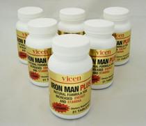 6 Bottles  Iron Man Plus Male Stamina & Energy Enhancement With Yohimbe