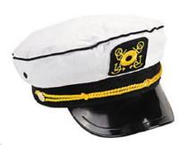 Cotton Captain Cap Sailor Hat  Yacht Boat Costume Party