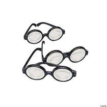 Plastic Funny Nerd Glasses - 12 Count