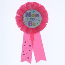 Baby Shower Pink Mom To Be Award Ribbon Polka Dots Party Decorations