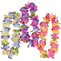 Polyester Mahalo Leis - 12 Count