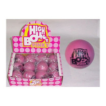 Pinky High Bounce Solid Rubber Ball - 12 Count