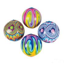 "Lot of 12 Tie Dye 9"" Beach Balls Party Favors Hippie"
