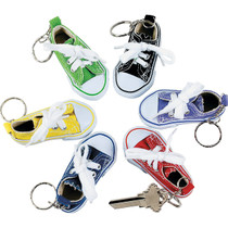 Tennis Shoe Keychains - 12 Pack