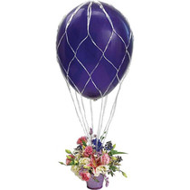 Hot Air Balloon Centerpiece Netting 2'