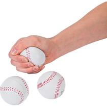 Foam Realistic Baseball Stress Balls - 12 Pack