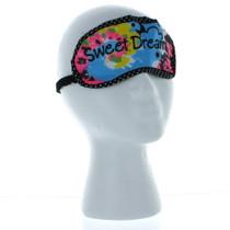 Girls Tie Dye Cotton Sleepover Backpack with Eye Mask
