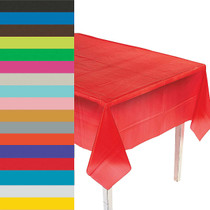 Rectangle Tablecloth 9' - Choose Your Color