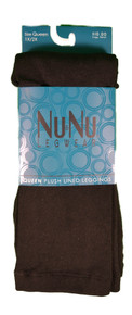 3 Pairs NuNu Leggings Black Opaque Queen Plush Lined Ladie Footless 1x/2x Winter