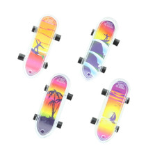 "Mini Tropical Skateboards Party Favors 2"" Lot of 36"