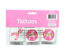 Breast Cancer Awareness Temporary Tattoos Pink Camo Ribbons Lot of 72