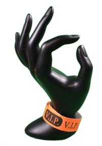 Lot of 500 VIP Orange Wristbands Event Admission Wrist Bands