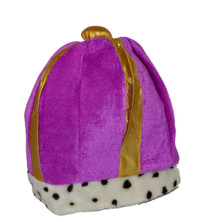 Purple and Gold Kings Crown