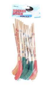 Lot Of 12 Hockey Stick Pencils Party Favors