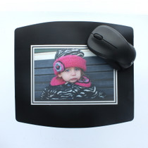 """Photo Mouse Pads Custom 4"""" x 6"""" Picture Insert Frame lot of 6"""