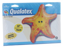 "XL 30"" Starfish Super Shape Mylar Foil  Balloon Luau Beach Party Decoration"
