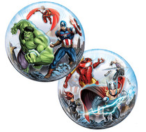 """Marvel Avengers Assemble 22"""" Stretchy Bubble Balloon Party Decoration"""