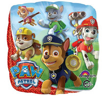 "Paw Patrol Mylar Balloon Chase & Marshall Nickelodeon  Party Decoration 18"""