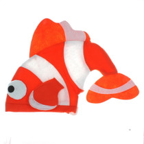 Felt Tropical Fish Novelty Hat Clownfish Orange Nemo Plush Party Hat