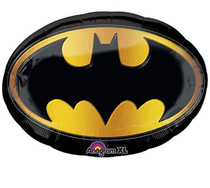 "27"" Batman Emblem Anagram XL Super Shape Mylar Foil Balloon"