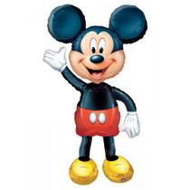 "52"" Mickey Mouse Anagram AirWalkers Jumbo Mylar Foil Balloon"