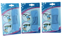 3 Cryst'l Clean Microfiber Eyeglass Cleaning Cloths Sunglasses Lens Wipe Cleaner