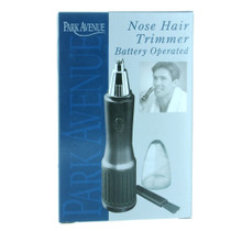 Nose Hair Trimmer Battery Operated Groomer Park Avenue