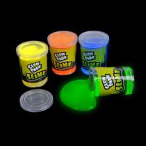 Glow In The Dark Slime - 12 Pack