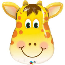 "Giraffe Mylar Foil Balloon Kids Party Decoration XL 32"" Jolly Giraffe"