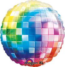 "Anagram XL Disco Ball Super Shape Mylar Foil Balloon 32"""