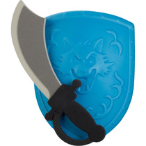 TOYI Foam Sword & Shield Knight Fantasy Adventure Play Set - 4 Pack