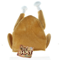 Thanksgiving Roasted Turkey Plush Hat Costume Accessory