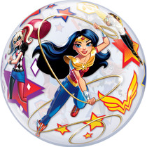 Qualatex DC Super Hero Girls Plastic Bubble Balloon 22""