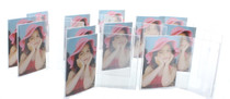 """Double Sided Acrylic Frames 2.25"""" x 3.25"""" Lot of 12 Party Favors"""
