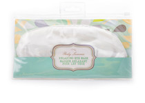 Set of 2 White Silk Relaxing Eye Masks Sleep Shade Blindfold Travel Sleep Aid