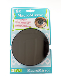 8X Macro Mirror Close Up Mirror With Suction Cups Bathroom Make Up Mirror