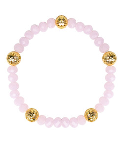 Riley Bracelet - Cotton Candy & Gold