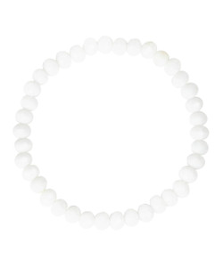 Riley Bracelet - Czech White