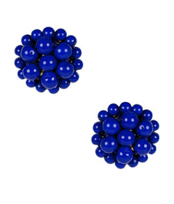Button - Royal Blue