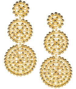 Greta - Beaded Gold