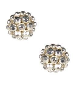 Button - Silver